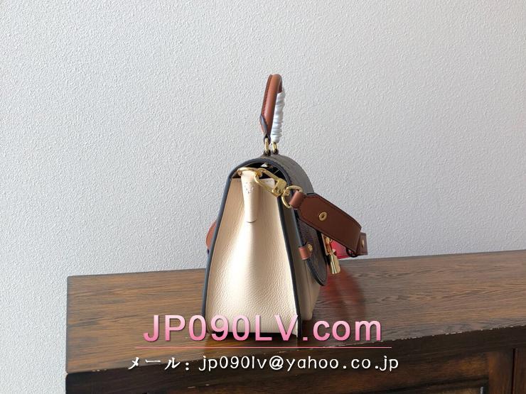 ルイヴィトン モノグラム バッグ コピー M44353 「LOUIS VUITTON」 ヴォジラール PM ハンドバッグ レディース ショルダーバッグ 3色可選択 クレーム