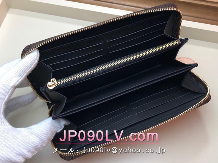 ルイヴィトン ジャイアント・モノグラム 長財布 スーパーコピー M67687 「LOUIS VUITTON」 ジッピー・ウォレット レディース ラウンドファスナー財布
