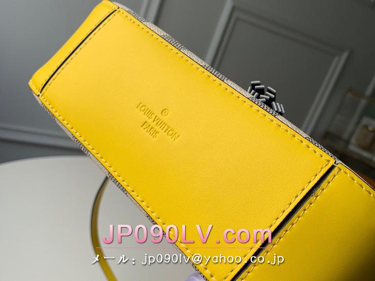 ルイヴィトン ダミエ・アズール バッグ スーパーコピー N40154 「LOUIS VUITTON」 サントンジュ レディース ショルダーバッグ 2色可選択 パイナップル