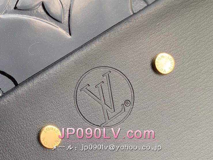 ルイヴィトン モノグラム・ヴェルニ バッグ コピー M53999 「LOUIS VUITTON」 プチボワット・シャポー スープル PM レディース ショルダーバッグ 2色可選択 ノワール