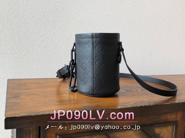 ルイヴィトン モノグラム・シャドウ バッグ スーパーコピー M44628 「LOUIS VUITTON」 チョーク・ナノバッグ メンズ ショルダーバッグ