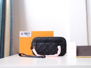 ルイヴィトン トリヨン・モノグラム 財布 スーパーコピー M53550 「LOUIS VUITTON」 ポシェット・ヴォルガ メンズ ラウンドファスナー財布