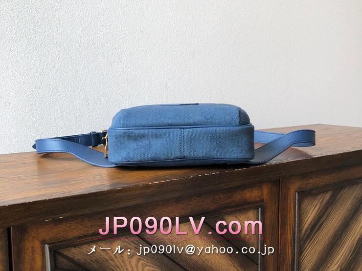 ルイヴィトン モノグラム バッグ コピー M44741 「LOUIS VUITTON」 バムバッグ・アウトドア メンズ ベルトバッグ 3色可選択 ネイビー