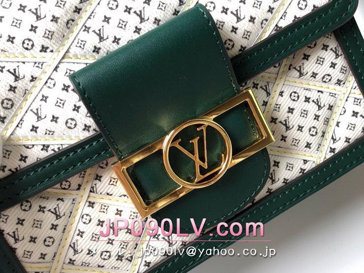 ルイヴィトン バッグ コピー M53996 「LOUIS VUITTON」 ドーフィーヌ MINI レディース ショルダーバッグ グリーン・ホワイト