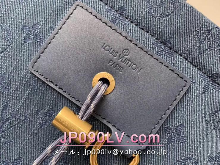 ルイヴィトン モノグラム・デニム バッグ スーパーコピー M44617 「LOUIS VUITTON」 チョーク・バックパック メンズ バックパック