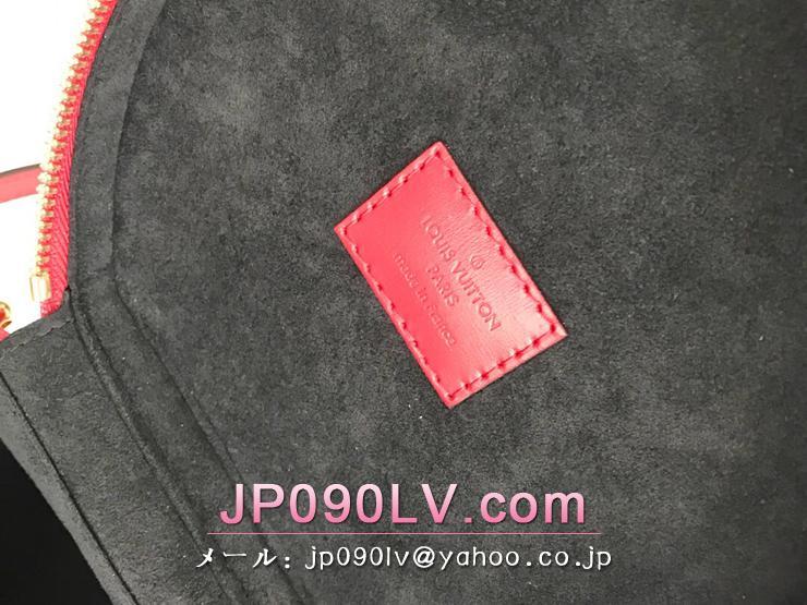 ルイヴィトン モノグラム・ヴェルニ バッグ コピー M53998 「LOUIS VUITTON」 カンヌ PM ハンドバッグ レディース ショルダーバッグ ルージュ