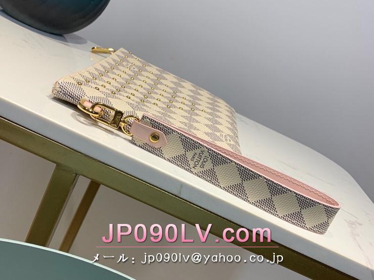 ルイヴィトン ダミエ・アズール 財布 スーパーコピー N60253 「LOUIS VUITTON」 シティ・ポシェット レディース ラウンドファスナー財布