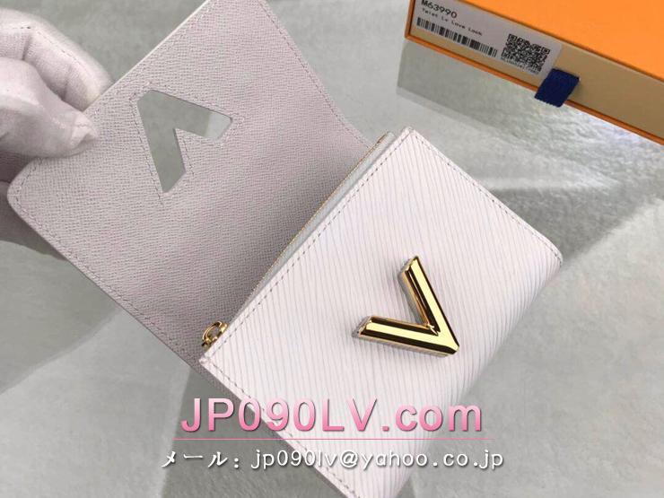 ルイヴィトン エピ 財布 スーパーコピー M63990 「LOUIS VUITTON」 ポルトフォイユ・ツイスト コンパクト レディース 三つ折り財布