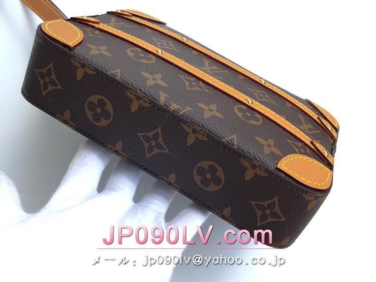 ルイヴィトン モノグラム バッグ スーパーコピー M44779 「LOUIS VUITTON」 ソフトトランク・ポッシュ メンズ クラッチバッグ