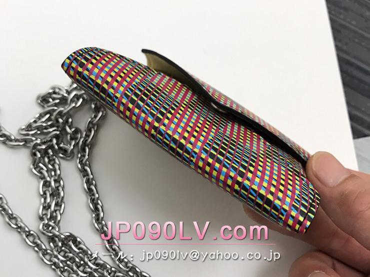 ルイヴィトン ダミエ 財布 スーパーコピー N60278 「LOUIS VUITTON」 キリガミ ネックレス レディース 二つ折り財布 Damier LV Pop