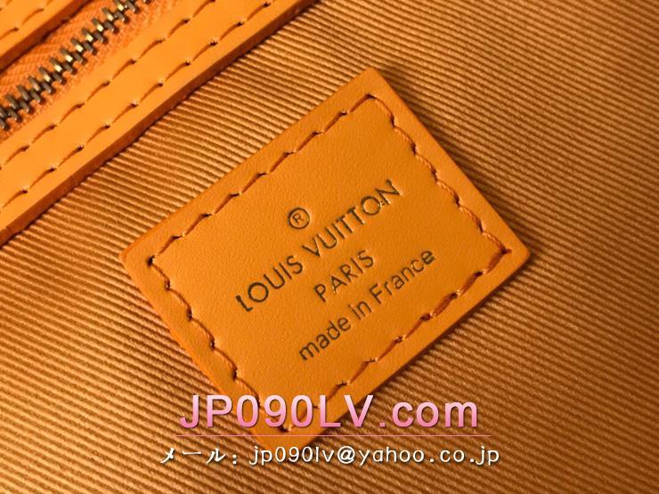 ルイヴィトン モノグラム・デニム バッグ コピー M44644 「LOUIS VUITTON」 キーポル・バンドリエール 50 メンズ ボストンバッグ オークル