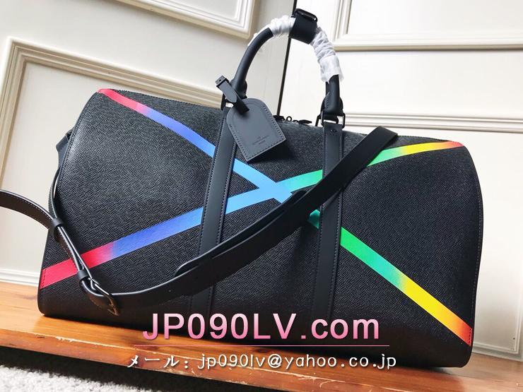 ルイヴィトン タイガ バッグ スーパーコピー M30345 「LOUIS VUITTON」 キーポル・バンドリエール 50 メンズ ボストンバッグ