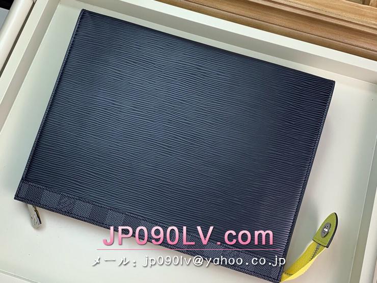 ルイヴィトン ダミエ・グラフィット バッグ コピー M67899 「LOUIS VUITTON」 ポシェット・ヴォワヤージュ メンズ クラッチバッグ
