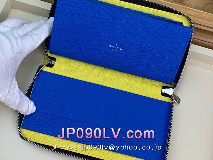 ルイヴィトン ダミエ・グラフィット 長財布 スーパーコピー M68227 「LOUIS VUITTON」 ジッピー・オーガナイザー メンズ エピ ラウンドファスナー財布