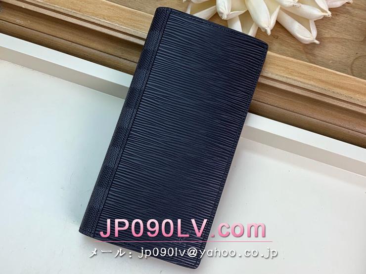 ルイヴィトン ダミエ・グラフィット 長財布 コピー M67903 「LOUIS VUITTON」 ポルトフォイユ・ブラザ メンズ エピ 二つ折り財布