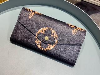 ルイヴィトン ジャイアント・モノグラム 長財布 コピー M67875 「LOUIS VUITTON」 ポルトフォイユ・サラ レディース 二つ折り財布