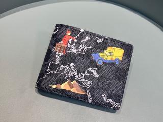 ルイヴィトン ダミエ・グラフィット 財布 コピー N60281 ...