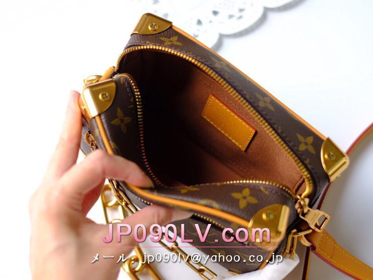 ルイヴィトン モノグラム バッグ コピー M68906 「LOUIS VUITTON」 ミニ・ソフトトランク レディース ショルダーバッグ