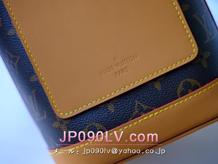 M44877 ルイヴィトン モノグラム バッグ コピー 「LOUIS VUITTON」 ミルクボックス メンズ ショルダーバッグ