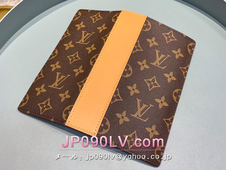 ルイヴィトン モノグラム 長財布 スーパーコピー M69029 「LOUIS VUITTON」 ポルトフォイユ・ブラザ NM メンズ 二つ折り財布