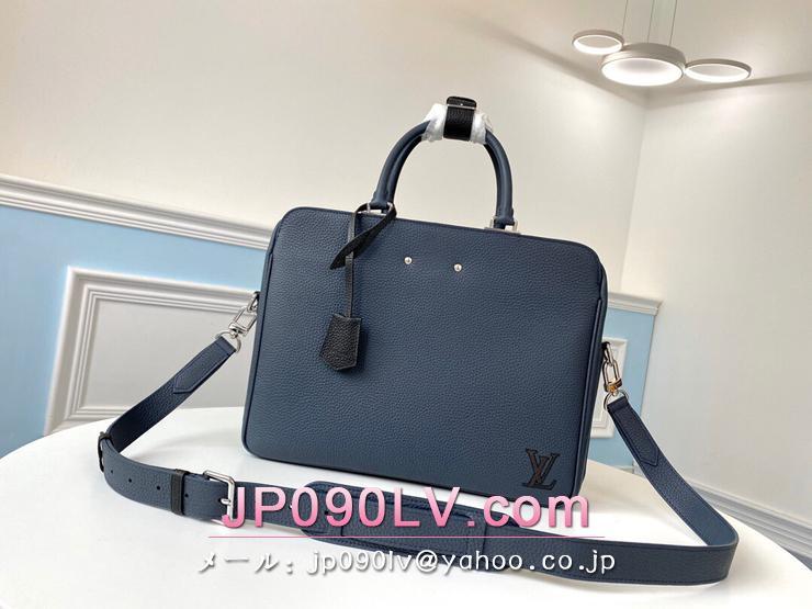 M55228 ルイヴィトン バッグ コピー 「LOUIS VUITTON」 アルマンド・ブリーフケース メンズ ビジネスバッグ 2色可選択 ネイビー
