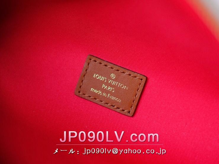 ルイヴィトン バッグ スーパーコピー M55425 「LOUIS VUITTON」 バムバッグ レディース ショルダーバッグ シアリング
