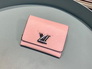 ルイヴィトン エピ 財布 コピー M63323 「LOUIS VUITTON」 ポルトフォイユ・ツイスト コンパクト XS レディース 三つ折り財布 5色可選択