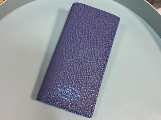 ルイヴィトン タイガ 長財布 スーパーコピー M30387 「LOUIS VUITTON」 ポルトフォイユ・ブラザ NM メンズ 二つ折り財布 2色可選択 ブルーマリーヌ