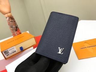 ルイヴィトン タイガ 財布 コピー M30293 「LOUIS VUITTON」 オーガナイザー・ドゥ ポッシュ メンズ 二つ折り財布 2色可選択 ネイビー