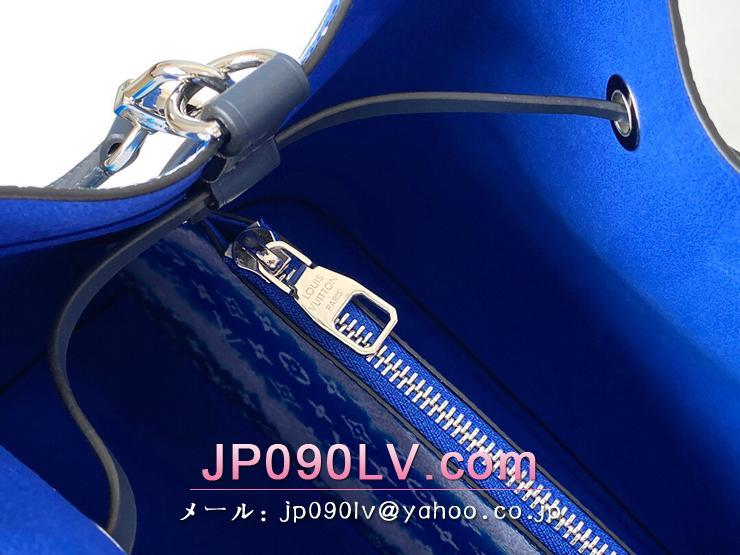 ルイヴィトン モノグラム バッグ コピー M45126 「LOUIS VUITTON」 NÉONOÉ LVエスカル ネオノエ レディース ショルダーバッグ ブルー