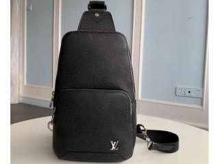 ルイヴィトン タイガ バッグ コピー M30443 「LOUIS VUITTON」 アヴェニュー・スリングバッグ メンズ ショルダーバッグ