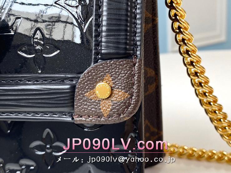 ルイヴィトン モノグラム・ヴェルニ バッグ コピー M90516 「LOUIS VUITTON」 LVワインウッド PM レディース ショルダーバッグ 2色可選択