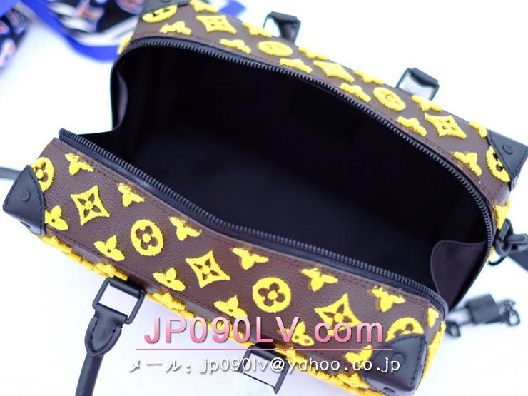 ルイヴィトン モノグラム バッグ スーパーコピー M45025 「LOUIS VUITTON」 スピーディ・ソフトトランク メンズ ショルダーバッグ