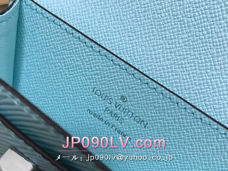 ルイヴィトン エピ 財布 コピー M69344 「LOUIS VUITTON」 ツイスト・ミュルティクカルト レディース 二つ折り財布 6色可選択 シーサイド