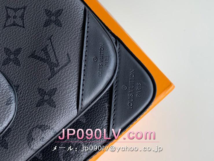 ルイヴィトン モノグラム・エクリプス バッグ コピー M69443 「LOUIS VUITTON」 トリオ・メッセンジャー メンズ ショルダーバッグ
