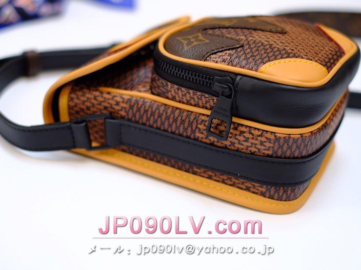 ルイヴィトン ダミエ・エベヌ バッグ スーパーコピー N40357 「LOUIS VUITTON」 アマゾン・メッセンジャー メンズ ショルダーバッグ