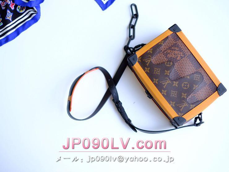 ルイヴィトン ダミエ・エベヌ バッグ コピー N40381 「LOUIS VUITTON」 ソフトトランク メンズ ショルダーバッグ
