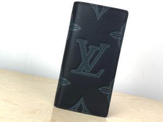 ルイヴィトン トリヨン・シャドウ 長財布 スーパーコピー M80042 「LOUIS VUITTON」 20新作 ポルトフォイユ・ブラザ NM メンズ 二つ折り財布