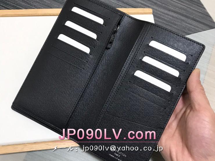 ルイヴィトン モノグラム・パステル 長財布 スーパーコピー M80019 「LOUIS VUITTON」 21新作 ポルトフォイユ・ブラザ NM メンズ 二つ折り財布