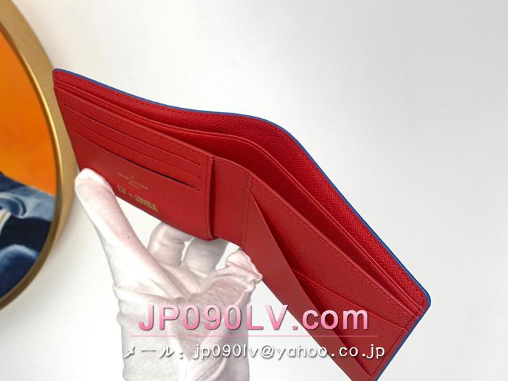 ルイヴィトン モノグラム 財布 スーパーコピー M80105 「LOUIS VUITTON」 21新作 LVxNBA ポルトフォイユ・ミュルティプル メンズ 二つ折り財布
