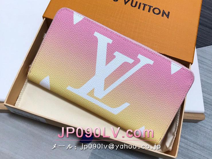 ルイヴィトン モノグラム 長財布 コピー M80361 「LOUIS VUITTON」 21新作 ジッピー・ウォレット レディース ラウンドファスナー財布 ローズクレール