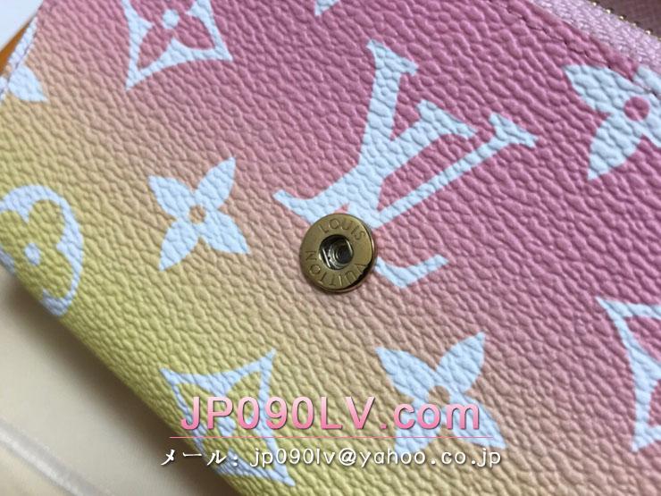 ルイヴィトン モノグラム 財布 スーパーコピー M80388 「LOUIS VUITTON」 21新作 ポルトフォイユ・ヴィクトリーヌ レディース 三つ折り財布 ローズクレール