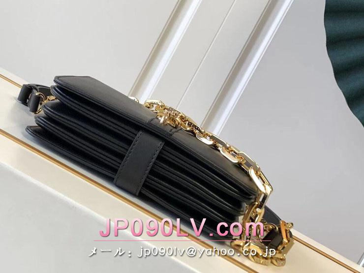 ルイヴィトン バッグ スーパーコピー M57743 「LOUIS VUITTON」 21新作 ランデヴー レディース ショルダーバッグ 3色可選択 ノワール