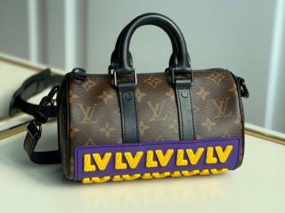 ルイヴィトン モノグラム バッグ コピー M45788 「LOUIS VUITTON」 21新作 キーポル XS メンズ ショルダーバッグ