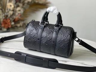 ルイヴィトン モノグラム・シール バッグ スーパーコピー M57960 「LOUIS VUITTON」 21新作 キーポル XS メンズ ショルダーバッグ 2色可選択 ブラック