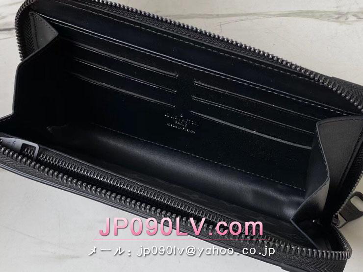 ルイヴィトン モノグラム・エクリプス 長財布 コピー M80558 「LOUIS VUITTON」 21新作 トランク・ジッピーウォレット メンズ ラウンドファスナー財布