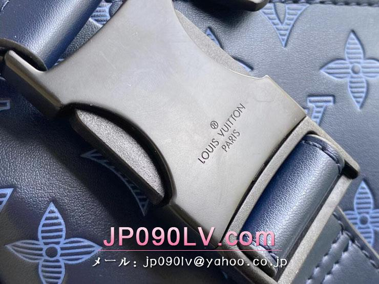 ルイヴィトン モノグラム・シャドウ バッグ コピー M45729 「LOUIS VUITTON」 21新作 ディスカバリー・バムバッグ PM メンズ ショルダーバッグ