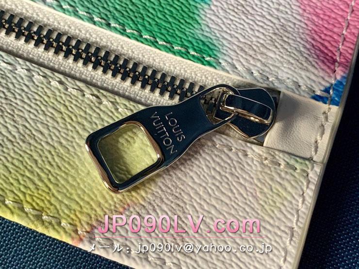 ルイヴィトン ウォーターカラー・モノグラム バッグ コピー M45754 「LOUIS VUITTON」 21新作 ウィークエンド・トート GM メンズ トートバッグ マルチカラー