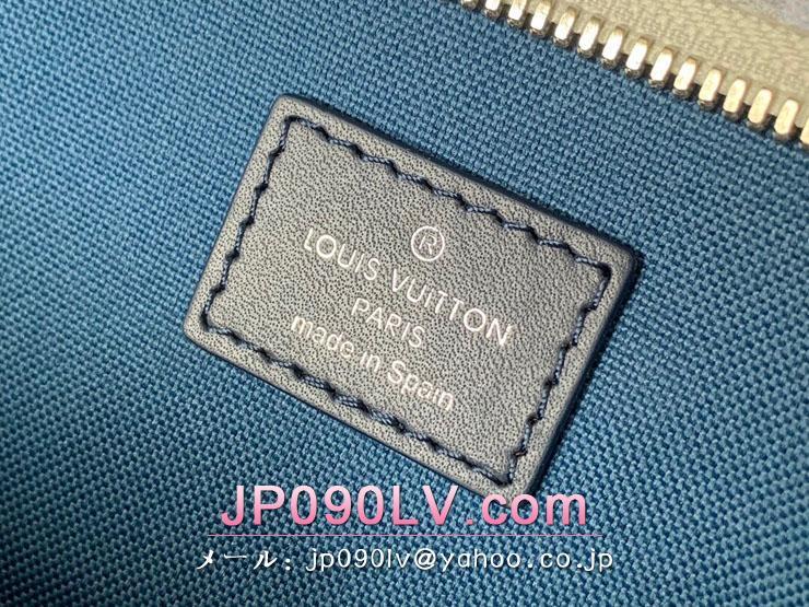 ルイヴィトン ウォーターカラー・モノグラム バッグ スーパーコピー M45755 「LOUIS VUITTON」 21新作 ウィークエンド・トート GM メンズ トートバッグ ブルー