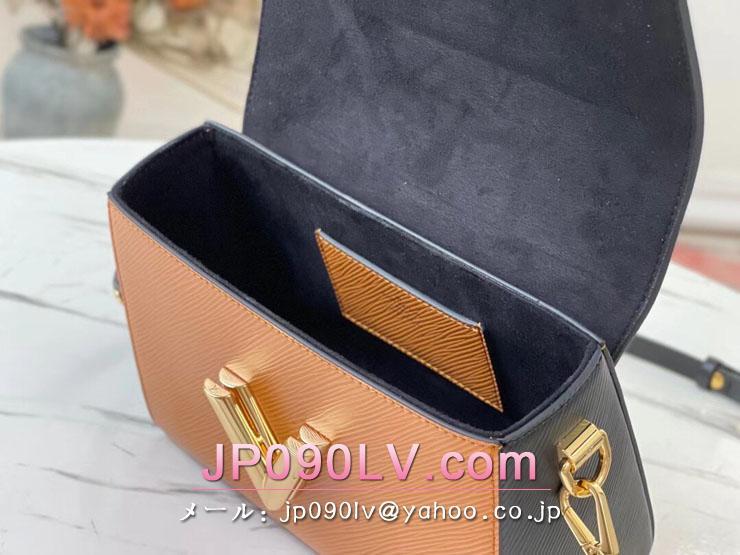 ルイヴィトン エピ バッグ コピー M58689 「LOUIS VUITTON」 21新作 ツイスト MM レディース ショルダーバッグ 2色可選択 シパンゴ・ノワール